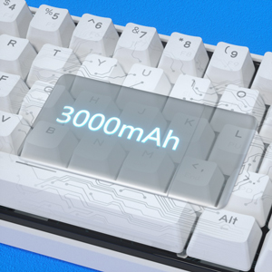60% mechanical keyboard Ultra-Large Capacity Battery